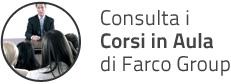 Consulta i Corsi in Aula di Farco Group
